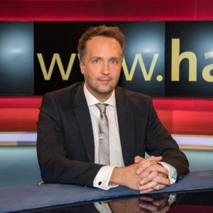 """Foto von Ralf Höcker in der WDR-Sendung """"hart aber fair"""" am 5.12.2016"""