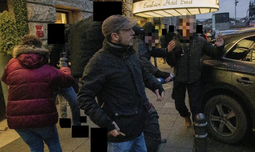 Nach Kundgebung beim WDR — Messerattacke von rechtem Demoteilnehmer