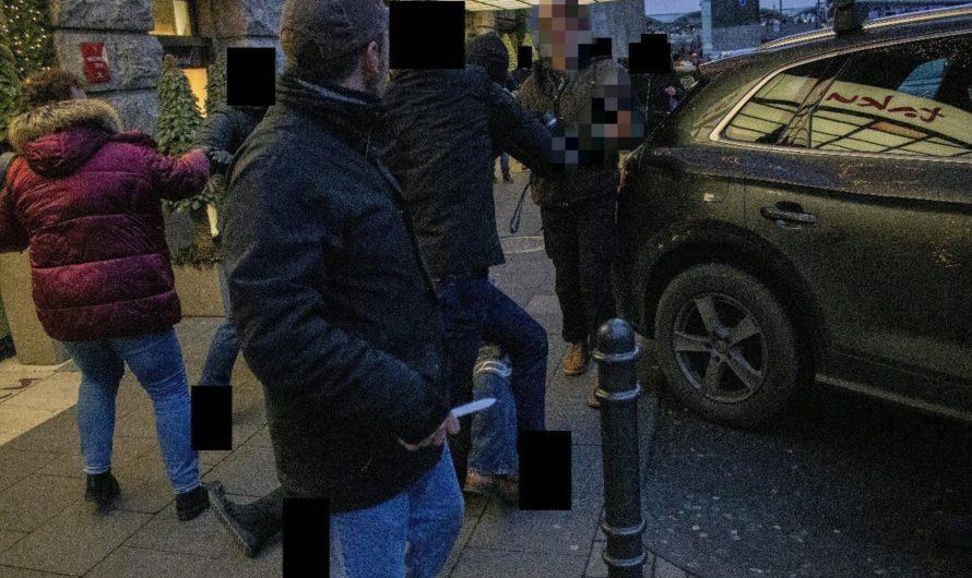 report-K: Offene Fragen zu 2 Messern und zur Darstellung der Polizei