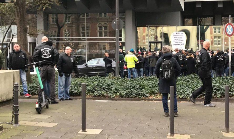 Erneuter Naziaufmarsch vor dem WDR am Samstag