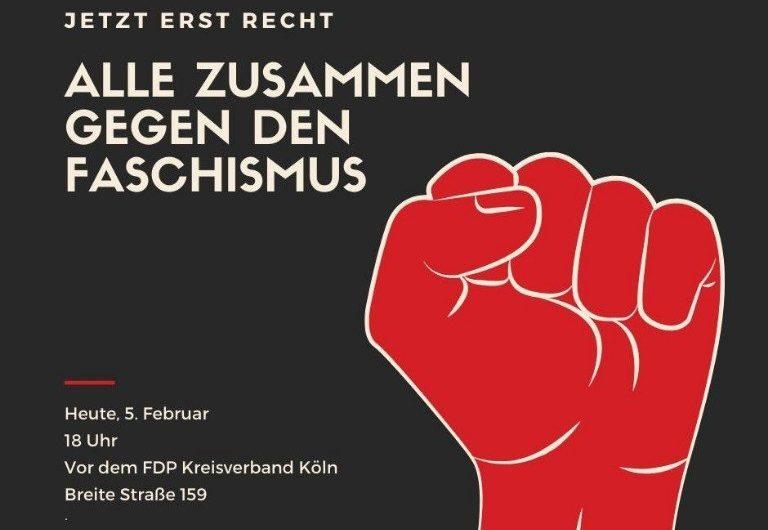 Alle zusammen gegen den Faschismus!