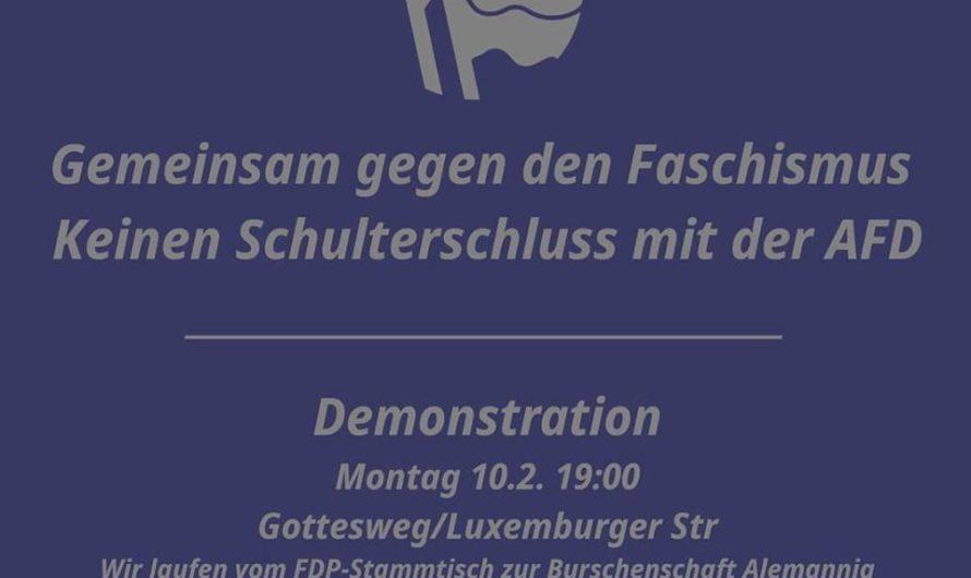 Gemeinsam gegen den Faschismus