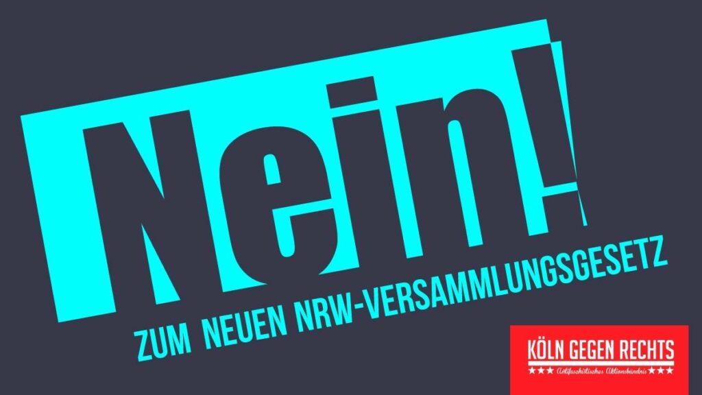 Demo Nein zum neuen NRW Versammlungsgesetz
